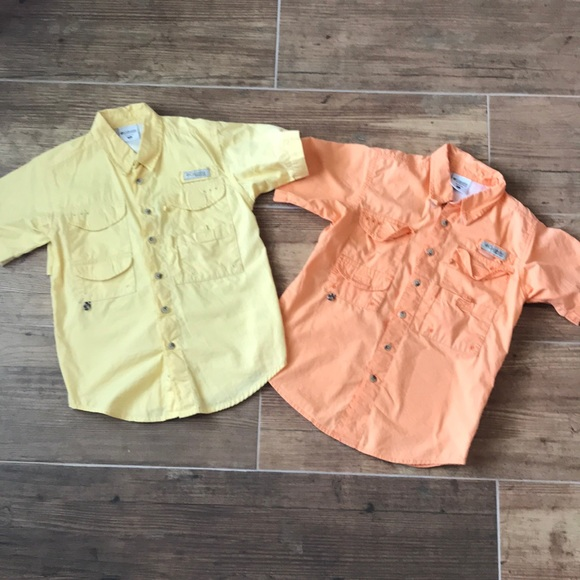 f3807985 Columbia Shirts & Tops | Lot Of 2 Youth Small Fishing Shirts Boys ...